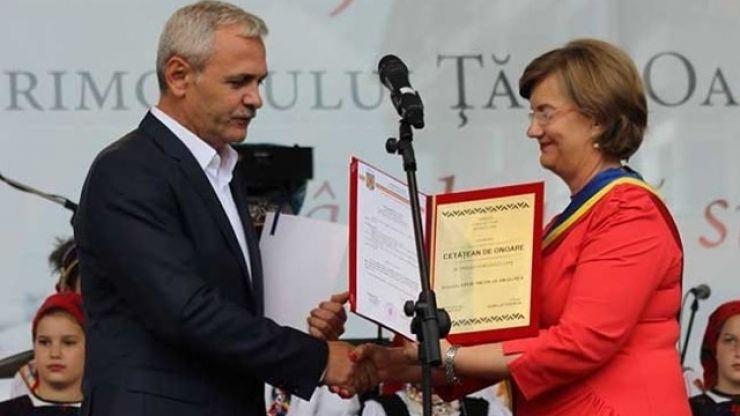 Consilierii locali negreșteni au decis: Liviu Dragnea rămâne cetățean de onoare al orașului Negrești Oaș