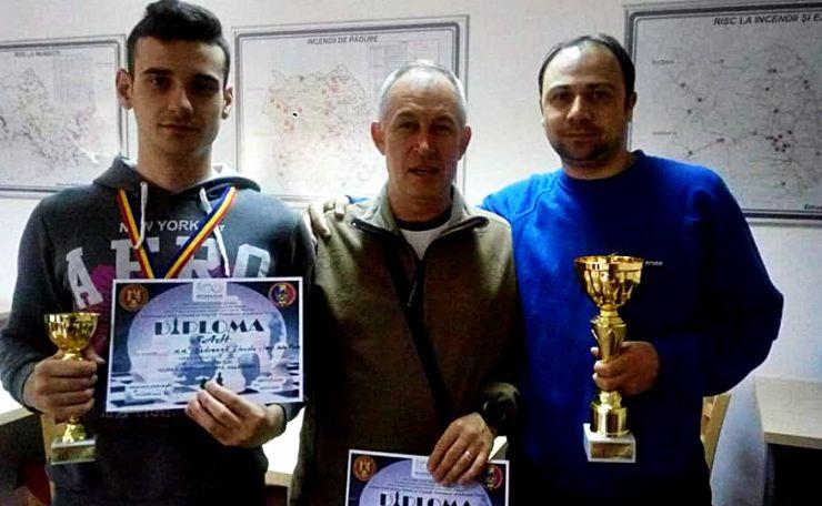 Rezultate excepționale obținute de doi pompieri sătmăreni la Campionatul de Șah a Asociației Sportive a Pompierilor Români