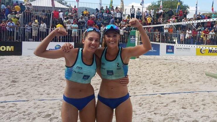 Adriana Matei și Beáta Vaida au câștigat în premieră un turneu de volei pe plajă #FIVB