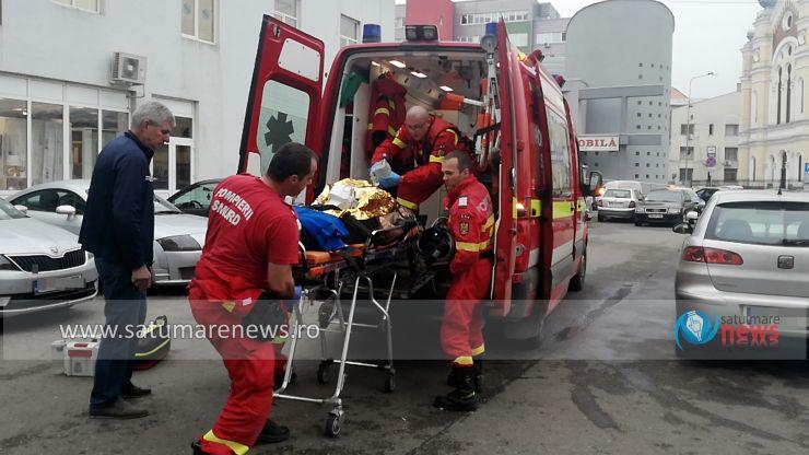 Un sătmărean a făcut infarct în incinta Centrului Comercial Someșul. Directorul DITL Satu Mare, Vasile Tincu, l-a resuscitat
