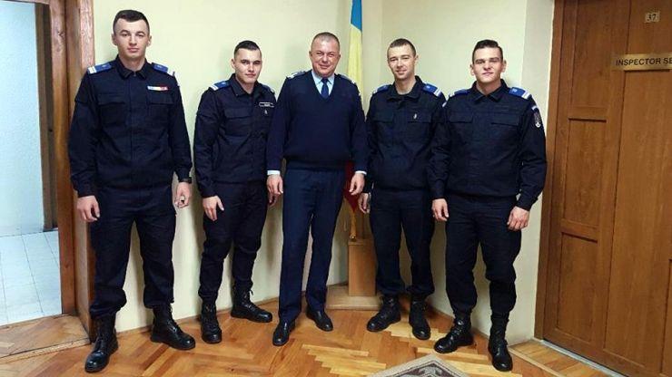 Patru subofiţeri, repartizaţi la Inspectoratul de Jandarmi Judeţean Satu Mare