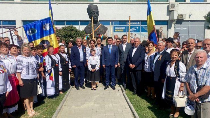 Avram Iancu, comemorat în centrul municipiului Satu Mare