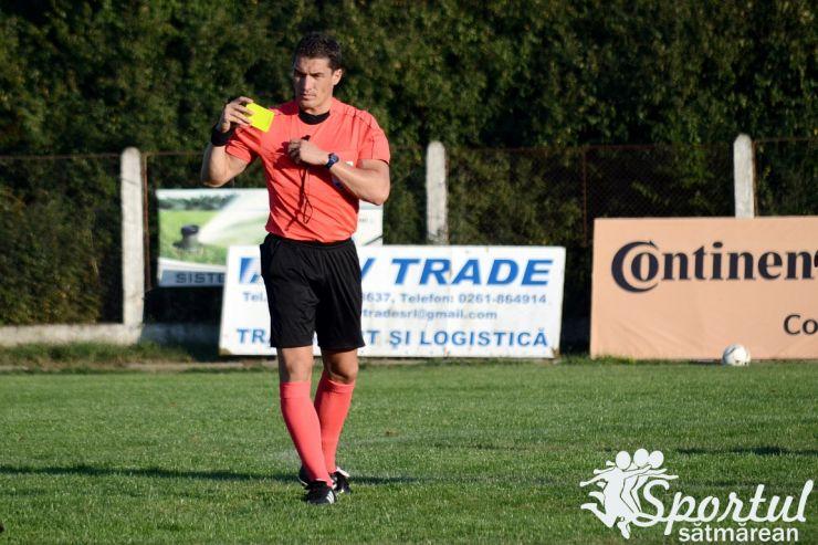 După ce duminică a arbitrat Carei - Decebal, Istvan Kovacs arbitrează joi în Europa League
