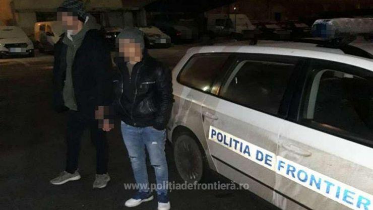 Doi tunisieni interceptați de polițiștii de frontieră sătmăreni, în apropierea graniței cu Ungaria