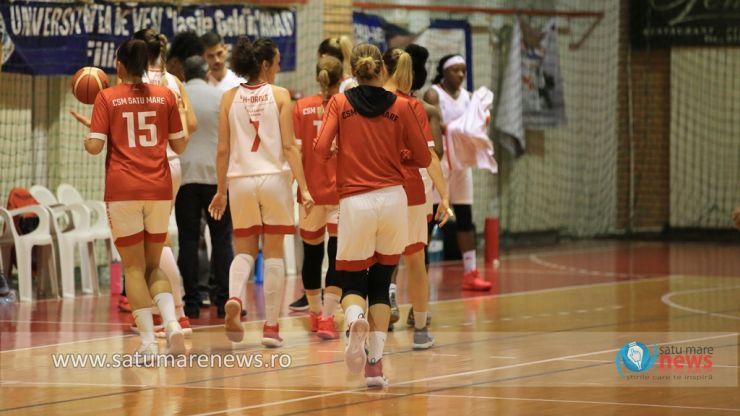 Baschet | CSM Satu Mare conduce Grupa Roșie din Liga Națională