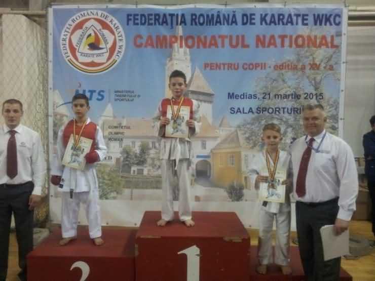 Karate. Două titluri de vicecampioni naționali și patru medalii de bronz pentru CSM Satu Mare