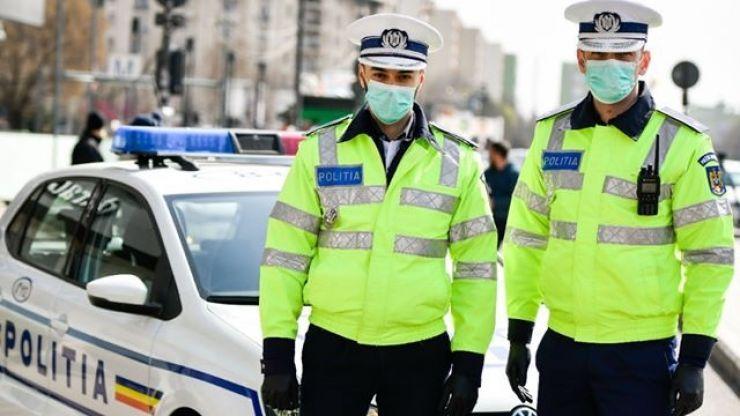 Polițiștii au aplicat peste 120 de amenzi într-o singură zi