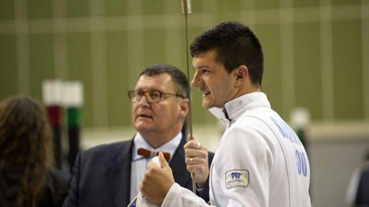 Adrian Szilagyi a obținut la individual cel mai bun rezultat al delegației României la Circuitul European U23 la spadă masculin