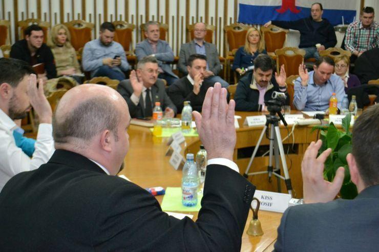 Azi: Ședință extraordinară a Consiliului local al municipiului Satu Mare