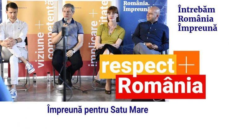 Dacian Cioloș vine la Satu Mare
