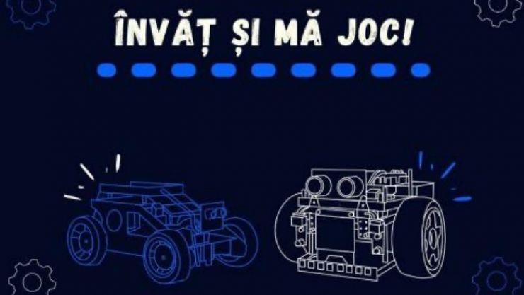 """Colegiul Național Mihai Eminescu organizează evenimentul online """"Învăț și mă joc!"""""""