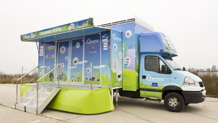 Caravana reciclează și plantează pornește spre unitățile de învățământ din județul Satu Mare