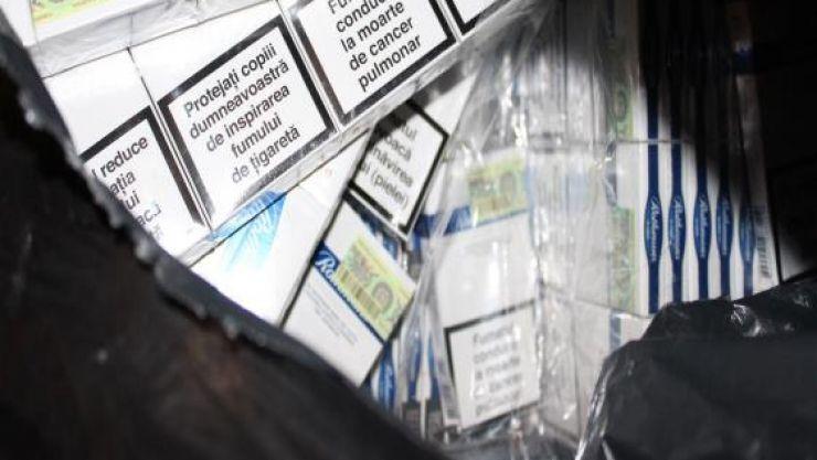 Bărbat reținut pentru contrabandă cu țigări