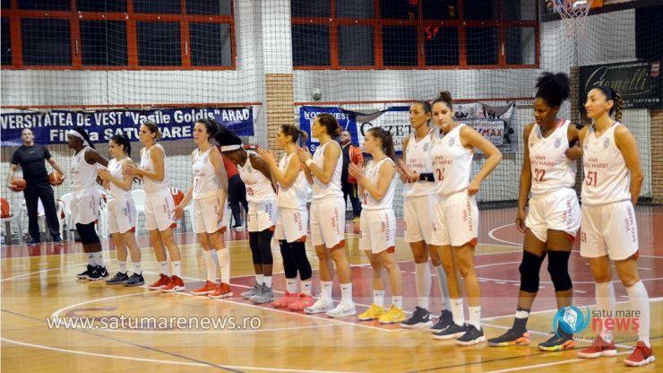 Baschet | CSM Satu Mare 105 - 41 Universitatea Cluj