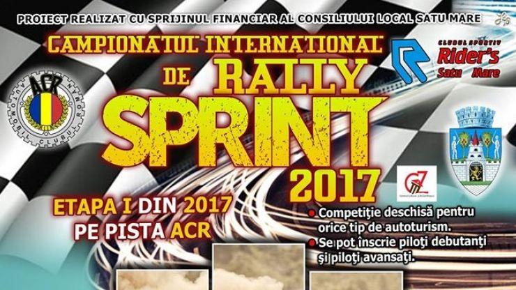 Sâmbătă începe ediția 2017 a Campionatului Internațional de Rally Sprint