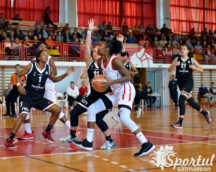 Baschet | Victorie pentru CSM Satu Mare în primul meci al sezonului 2017/2018