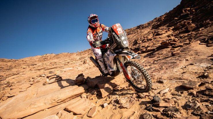 Dakar 2021 | Probleme mecanice pentru Mani Gyenes în etapa 3