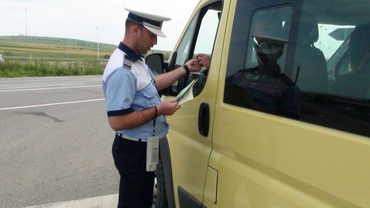 Filtre ale Poliției și RAR în zona Aeroportului Satu Mare. Amenzi de mii de lei