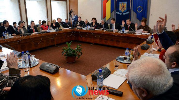 Final de mandat fără șampanie și pupici la Consiliul Județean Satu Mare