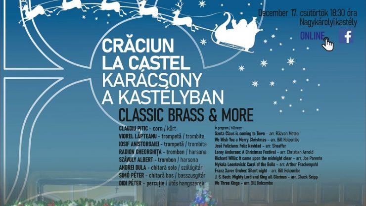 """Filarmonica """"Dinu Lipatti"""" invită sătmărenii la un """"Crăciun la Castel"""""""