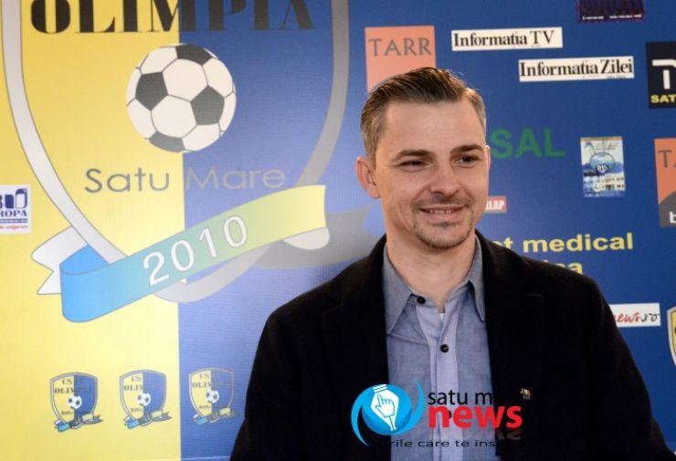 Clubul FC Olimpia Satu Mare, amendat azi de FRF