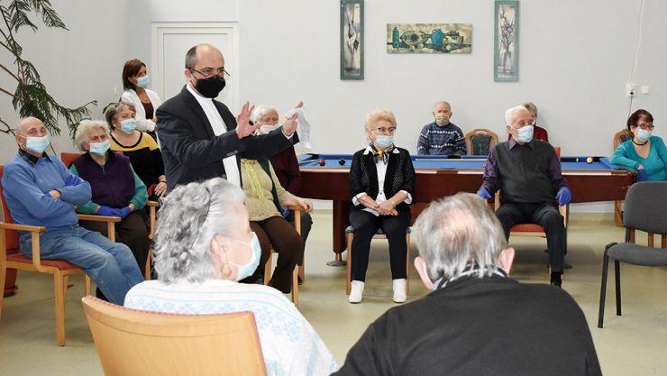 Ziua Rugăciunii, marcată la Centrul de zi pentru vârstnici