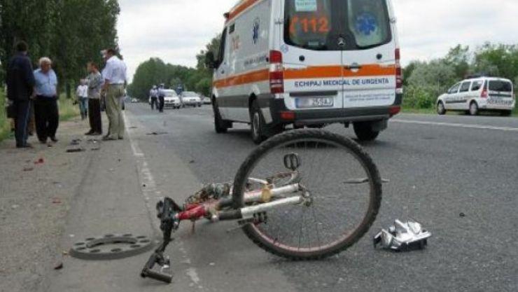 Biciclist lovit mortal de un camion în Ardud