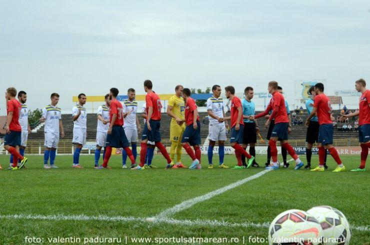Fotbal. Liga 2. Victorie lejeră pentru Olimpia în deplasare la Oradea