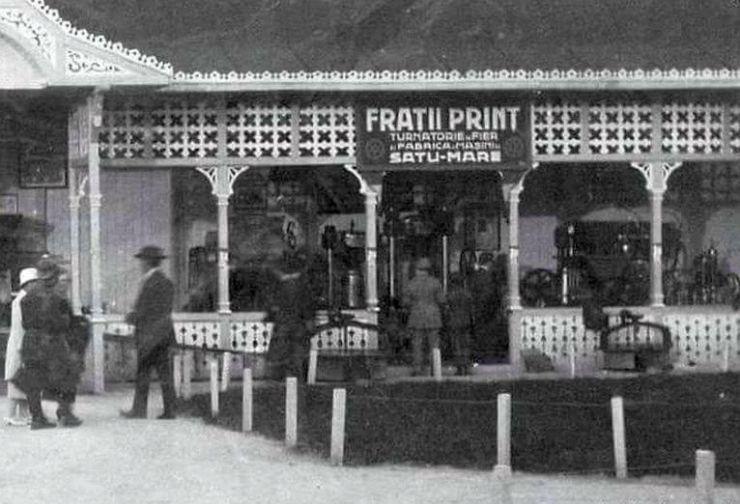 """Turnătoria de fier şi fabrica de maşini """"Fraţii Princz"""" SA, una dintre cele mai importante întreprinderi"""
