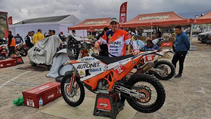 Dakar 2019 | Mani Gyenes, locul 38, după primele șase etape