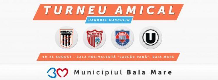 Handbaliștii de la CSM Satu Mare participă la un turneu amical în Baia Mare
