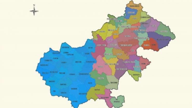 Județul Satu Mare are 2 zone metropolitane. Lista localităților unde se poate circula fără declarație