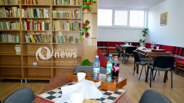 A fost inaugurat Centrul de zi al pensionarilor