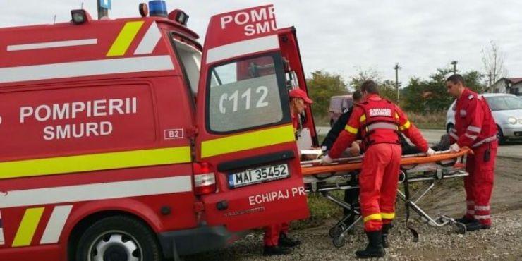Accident de muncă | Un bărbat a ajuns la spital