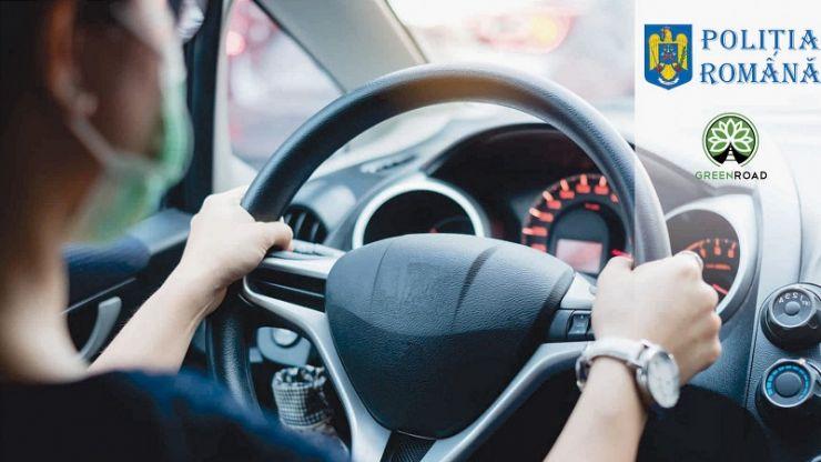 Șoferii de nota 10 vor fi recompensați de Poliția Română
