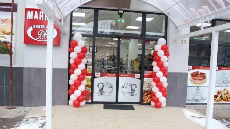 FOTO | Barta Ati a deschis un nou magazin CBA în Satu Mare