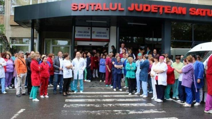 Grevă spontană la Spitalul Județean de Urgență Satu Mare