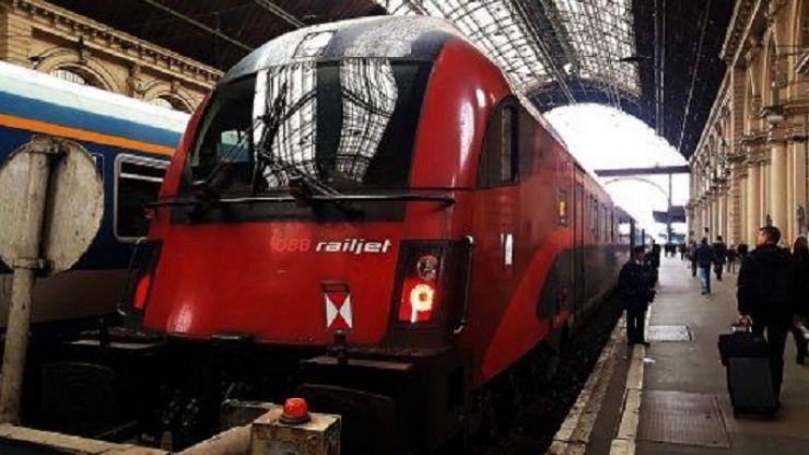 Tren direct de la Satu Mare la Viena, din 15 decembrie