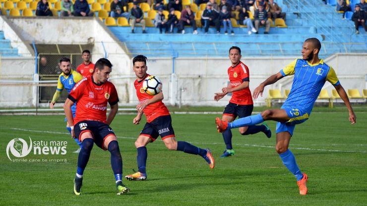 Liga 2 | Etapa 15 | FC Olimpia Satu Mare 1 - 1 AFC Ripensia Timișoara
