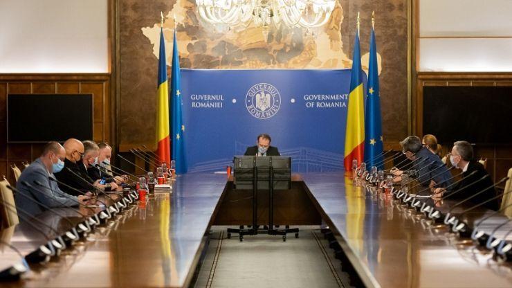 """Guvernul a adoptat Programul """"Anghel Saligny"""". Miniștrii USR PLUS nu au participat la ședință"""