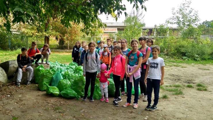 """""""Let's Do It, Romania!"""" a implicat zeci de elevi de la CN """"Mihai Eminescu"""""""
