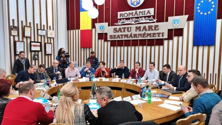 Alegeri locale 2020 | Componența Consiliului Local Satu Mare