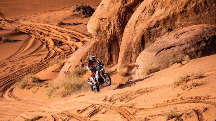 Dakar 2020 | Mani Gyenes a încheiat pe locul 38 etapa a IV-a