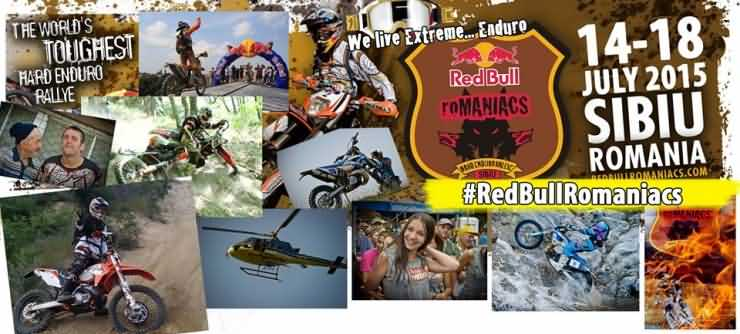 Emanuel Gyenes, la start-ul Red Bull Romaniacs 2015