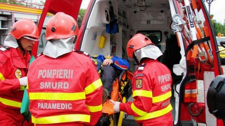 Un bărbat din Halmeu, implicat într-un accident pe DN19