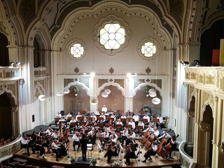"""Concert simfonic în colaborare cu Academia de Muzică """"Robert Schumann"""" din Düsseldorf"""