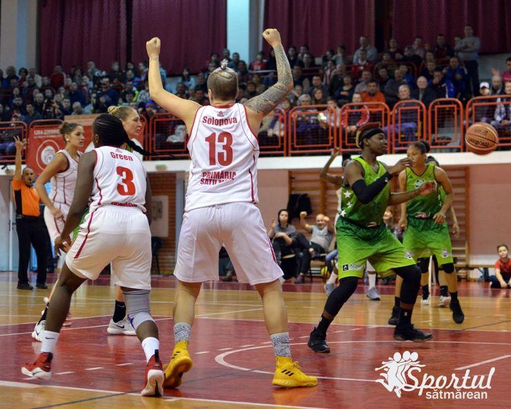 CSM Satu Mare s-a calificat în finala Ligii Naționale de Baschet Feminin