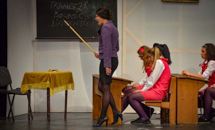 """""""Profesorul de franceză"""", marți, la Teatrul de Nord Satu Mare"""