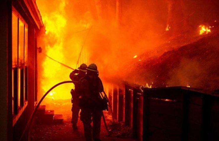 Incendiu provocat de o mână criminală, la Apateu