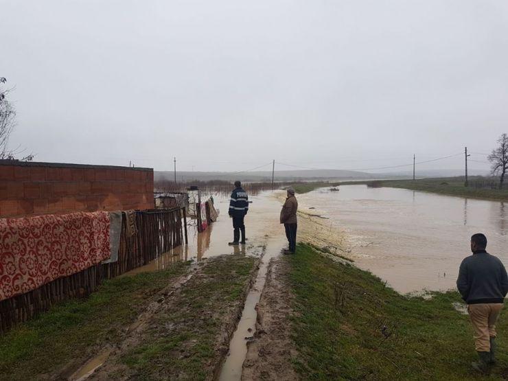 Alertă maximă | Cod roșu de inundații pe râul Crasna